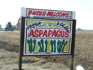 Typo as big as a barn - Aspapagus